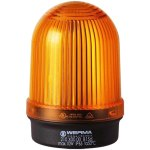 מנורת התראה כתומה קבועה - (10W , 12V ~ 240V (AC/DC