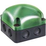 מנורת התראה מודולרית ירוקה קבועה - LED , 24VDC