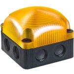 מנורת התראה מודולרית כתומה קבועה - LED , 24VDC