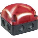 מנורת התראה מודולרית אדומה מהבהבת - LED , 24VDC
