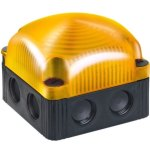 מנורת התראה מודולרית כתומה מהבהבת - LED , 230VAC