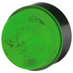מנורת התראה ירוקה מהבהבת - XENON , 10~100VDC / 20~72VAC