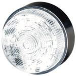 מנורת התראה לבנה מהבהבת - XENON , 10~100VDC / 20~72VAC