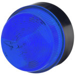 מנורת התראה כחולה מהבהבת - XENON , 115VAC ~ 230VAC