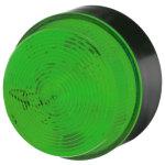 מנורת התראה ירוקה מהבהבת - XENON , 115VAC ~ 230VAC