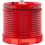 מנורת התראה אדומה מודולרית - LED , 24VDC , DUAL FUNCTION