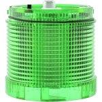 מנורת התראה ירוקה מודולרית - LED , 24VDC , DUAL FUNCTION