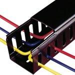 מסילה להובלת כבלים - 25MM X 37.5MM X 2M