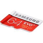 כרטיס זיכרון - SAMSUNG EVO+ - MICROSD 64GB - 80MB/S