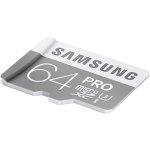 כרטיס זיכרון - SAMSUNG PRO - MICROSD 64GB - 90MB/S