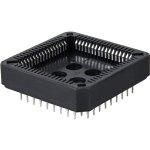 תושבת PLCC 2.54MM לרכיבים - 52 מגעים