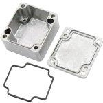 קופסת זיווד ממתכת - EPDMA SERIES - 120.5X120.5X101.5MM