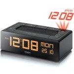 רדיו / שעון מעורר שולחני עם מקרן מובנה - EC101