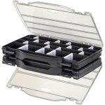 קופסת אחסון לרכיבים עם מחיצות נשלפות 276X186X59MM