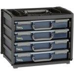 מערכת ניידת לאחסון רכיבים - 376X310X265MM - PRO HANDYBOX