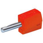 מחבר בננה CAGE CLAMP 215 - 4MM - בידוד אדום