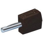 מחבר בננה CAGE CLAMP 215 - 4MM - בידוד שחור
