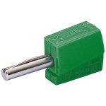 מחבר בננה CAGE CLAMP 215 - 4MM - בידוד ירוק