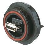 מחבר תעשייתי USB - נקבה למעגל מודפס - PX0845/A