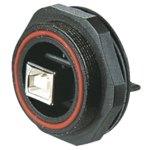 מחבר תעשייתי USB - נקבה למעגל מודפס - PX0845/B