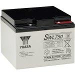מצבר עופרת נטען - YUASA SWL750 - 12V 25AH