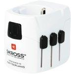 מתאם חשמל בינלאומי - SKROSS PRO LIGHT & USB