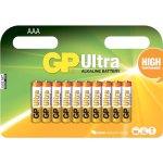 12 סוללות אלקליין - AAA 1.5V - GP ULTRA ALKALINE