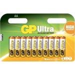 12 סוללות אלקליין - AA 1.5V - GP ULTRA ALKALINE