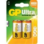 זוג סוללות אלקליין - C 1.5V - GP ULTRA ALKALINE