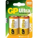 זוג סוללות אלקליין - D 1.5V - GP ULTRA ALKALINE