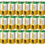 24 סוללות אלקליין - C 1.5V - GP SUPER ALKALINE