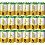 20 סוללות אלקליין - D 1.5V - GP SUPER ALKALINE