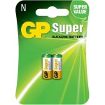 זוג סוללות אלקליין - N 1.5V - GP SUPER ALKALINE