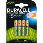רביעיית סוללות נטענות - DURACELL - AAA - 1.2V 850MAH - NIMH