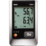 אוגר נתונים - טמפרטורה , 2000000 זכרונות , TESTO 176-T4