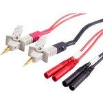כבלים לרב מודד - EXTECH 380465 - KELVIN CLIPS