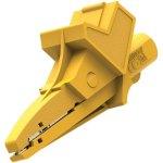 תנין מבודד 90MM עם כניסת בננה 4MM - בידוד צהוב