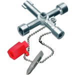 מפתח אוניברסלי לארונות שירות - KNIPEX 00 11 03