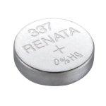 סוללה לשעון - RENATA 337 / SR416SW , 1.55V , SILVER OXIDE
