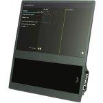 קיט מארז עם מסך LCD ''14 עבור RASPBERRY PI - מסגרת אפורה