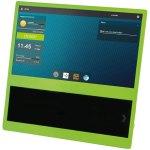 קיט מארז עם מסך LCD ''14 עבור RASPBERRY PI - מסגרת ירוקה