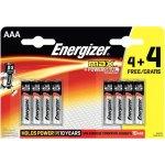 8 סוללות אלקליין - AAA 1.5V - ENERGIZER MAX ALKALINE