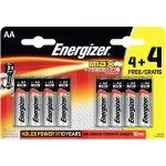 8 סוללות אלקליין - AA 1.5V - ENERGIZER MAX ALKALINE