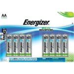 8 סוללות אלקליין - AA 1.5V - ENERGIZER ECO ADVANCED