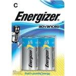 זוג סוללות אלקליין - C 1.5V - ENERGIZER ECO ADVANCED
