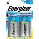 זוג סוללות אלקליין - D 1.5V - ENERGIZER ECO ADVANCED