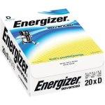 20 סוללות אלקליין - D 1.5V - ENERGIZER ECO ADVANCED