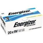 20 סוללות אלקליין - 9V - ENERGIZER ECO ADVANCED