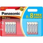 16 סוללות אלקליין - AAA 1.5V - PANASONIC PRO POWER