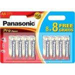 16 סוללות אלקליין - AA 1.5V - PANASONIC PRO POWER